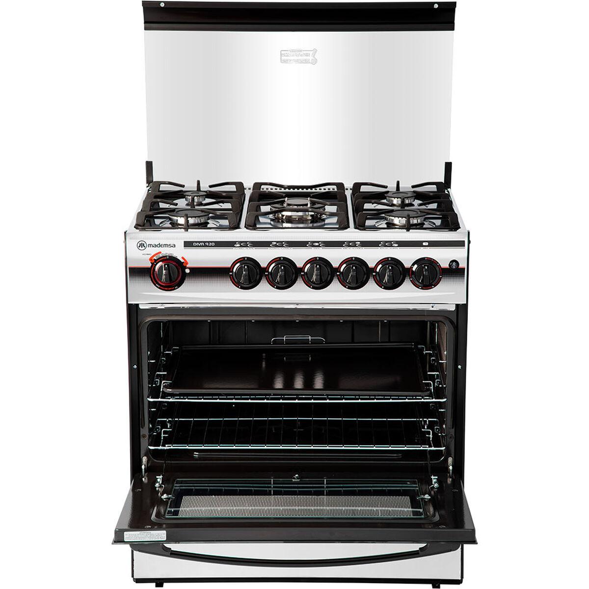 Cocina a Gas Mademsa Diva 920 5 Quemadores
