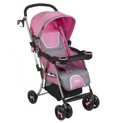 Coche de Paseo Bebesit Twister 5224 Rosado