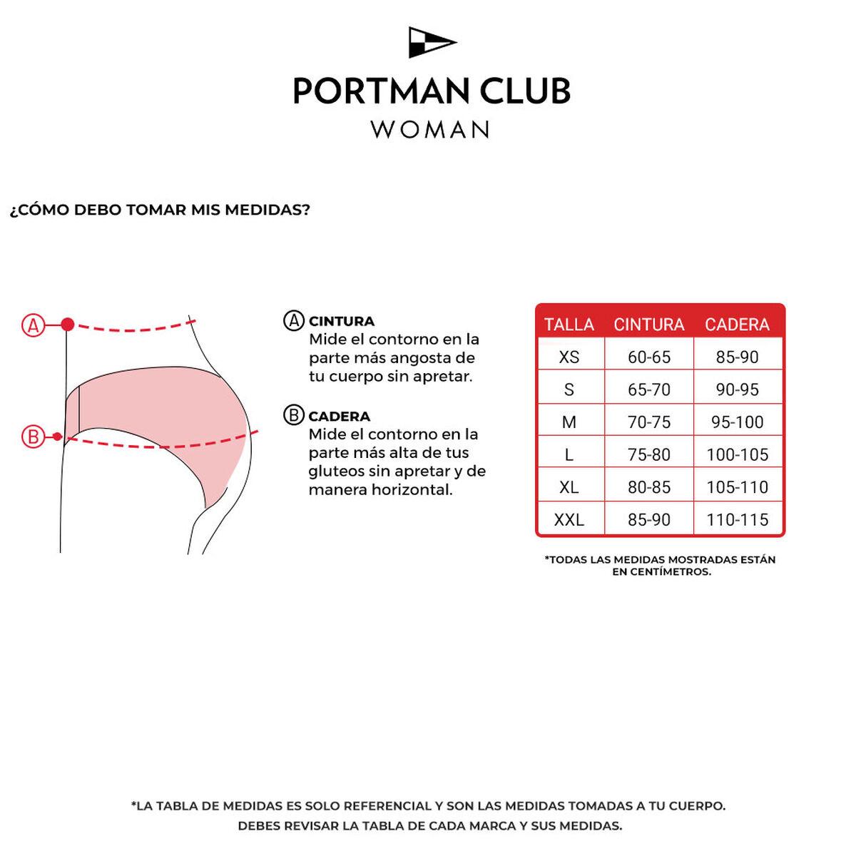 Calzón Bikini Mujer Portman Club