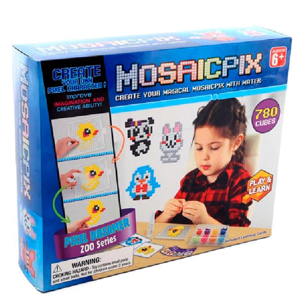 Set Manualidades Mosaicpix Zoológico