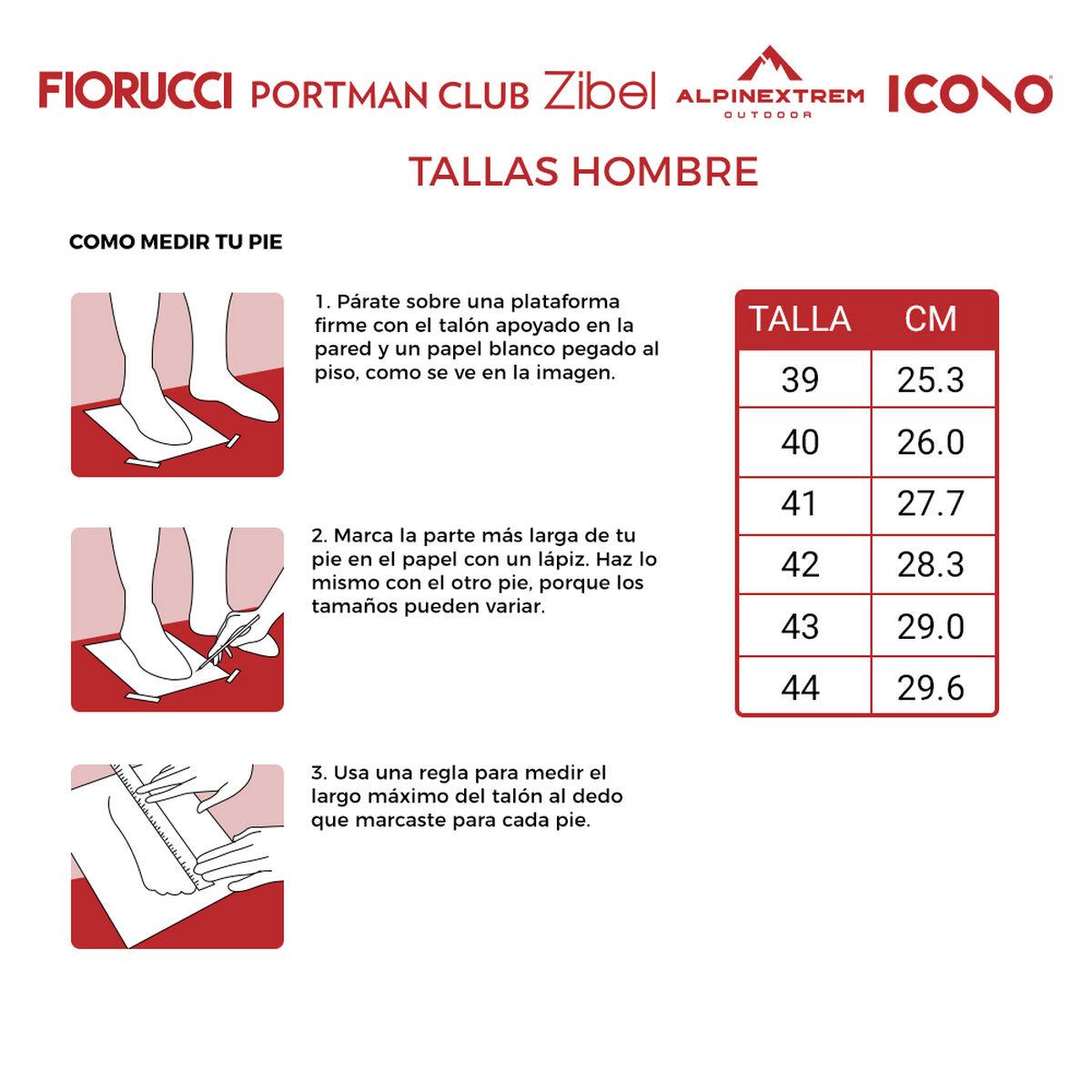 Zapatilla Hombre Icono