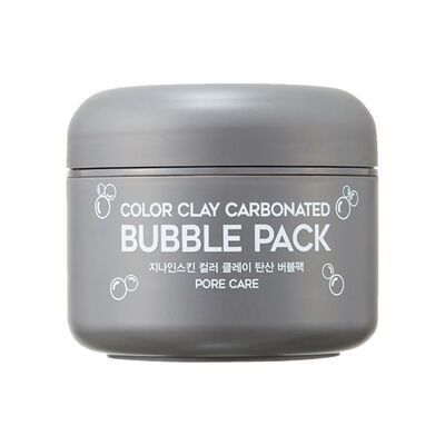 Mascarilla Facial Color Clay Carbonated Bubble Pack G9Skin