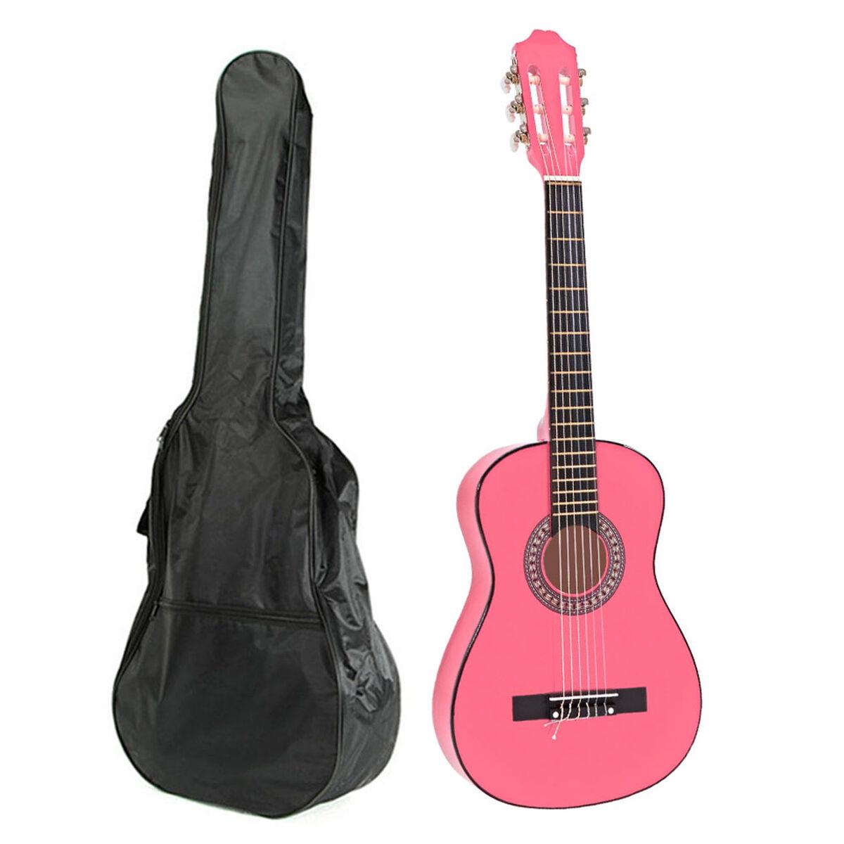 Guitarra Clásica Niño Alaguez AZ-GS30PK + Bolso
