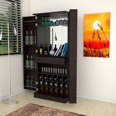 Mueble Bar con Espejo TuHome Sintra