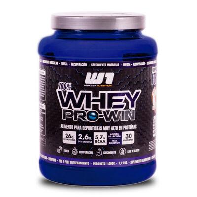 Proteína Whey Pro Win Dulce De Leche 1 Kg. 30 Servicios