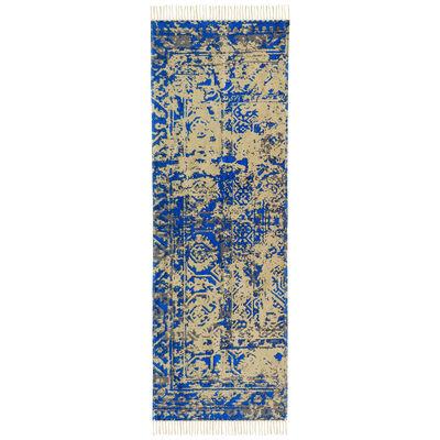 Alfombra Cotton Vintage 160 X 230 Cm Light Blue