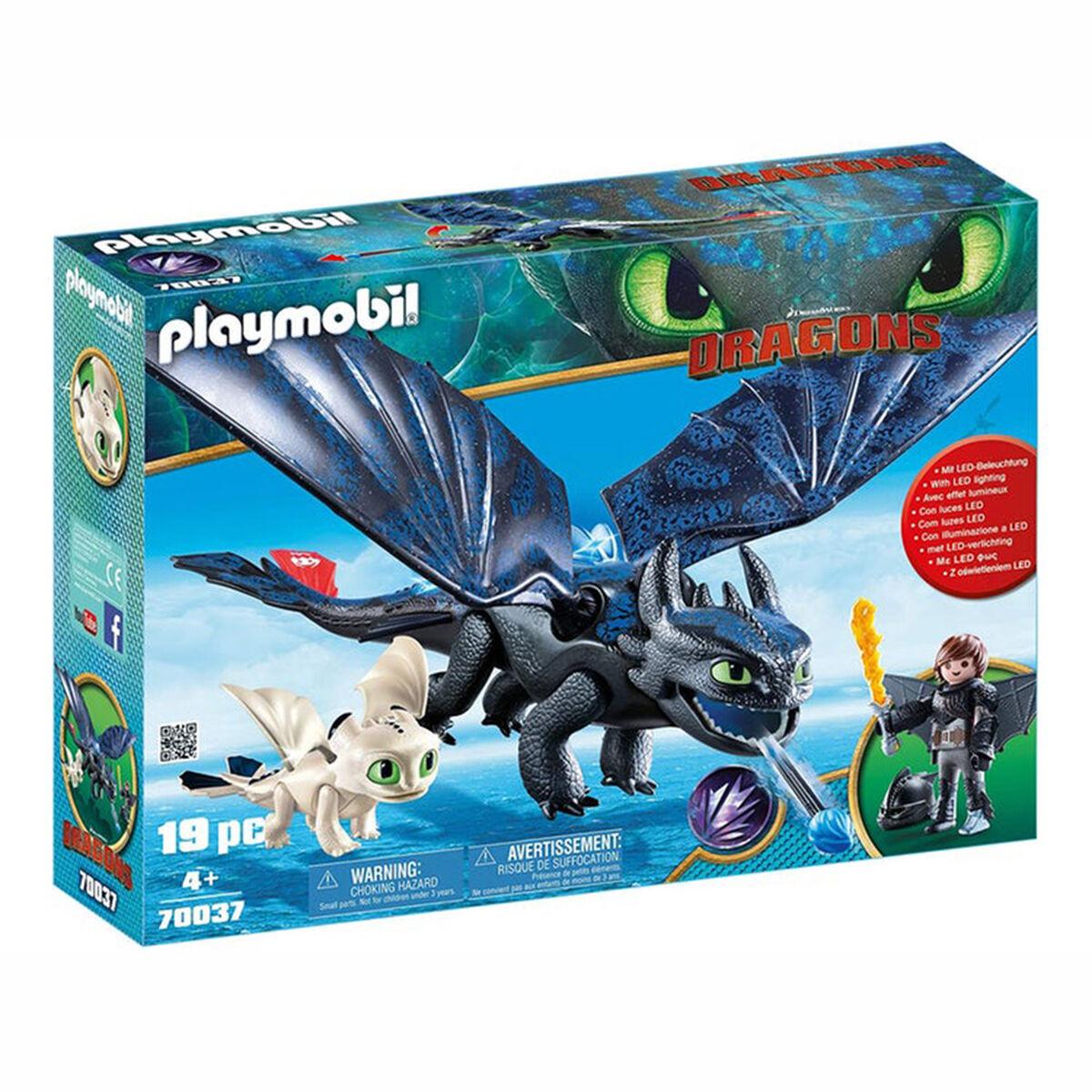 Set Hipo y Astrid con Bebe Dragón de Playmobil