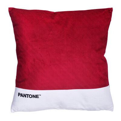 Cojín Pantone Velvet 40X40 Cm Burdeo