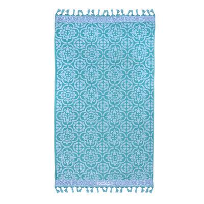 Toalla Jaquard Azulejo 90X180 Cm