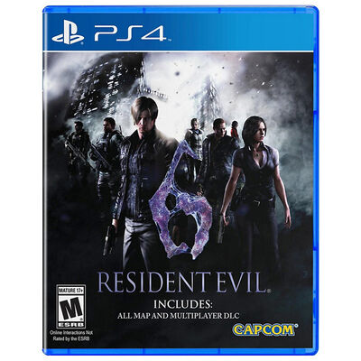 Juego PS4 Resident Evil 6 HD