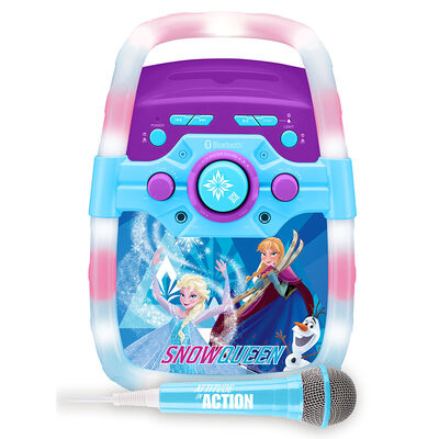 Karaoke Infantil Disney Frozen con luces