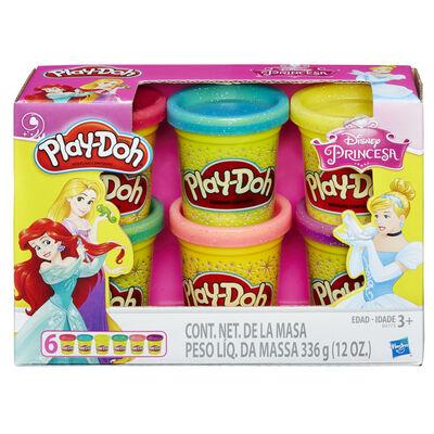 Play-Doh 6 Pack Latas Princesas Disney
