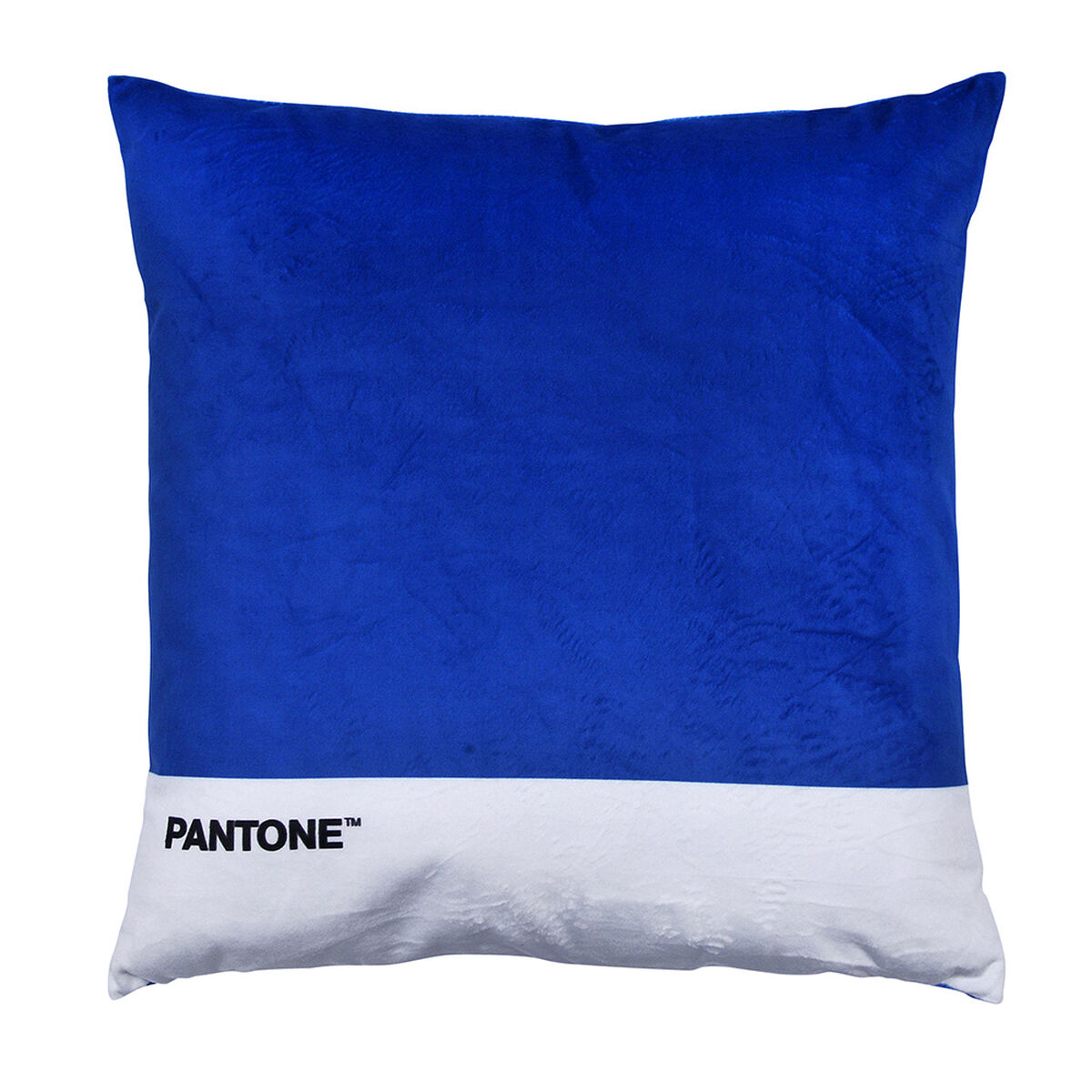 Cojín Pantone Velvet 40X40 Cm Azul