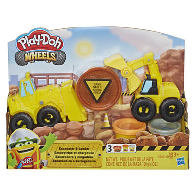 Play-Doh Escavadora Y Cargadora