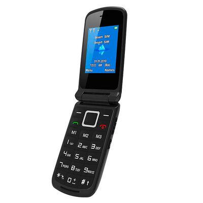 "Celular Básico ZTE R340 2,4"" Negro Claro"