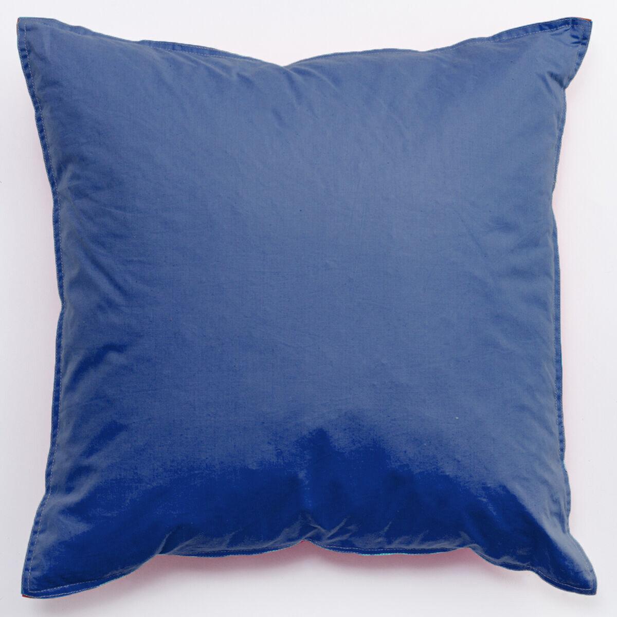 Cojín Bicolor Pluma Casanova Limited Edition Blue - Mint 40 x 40 cm