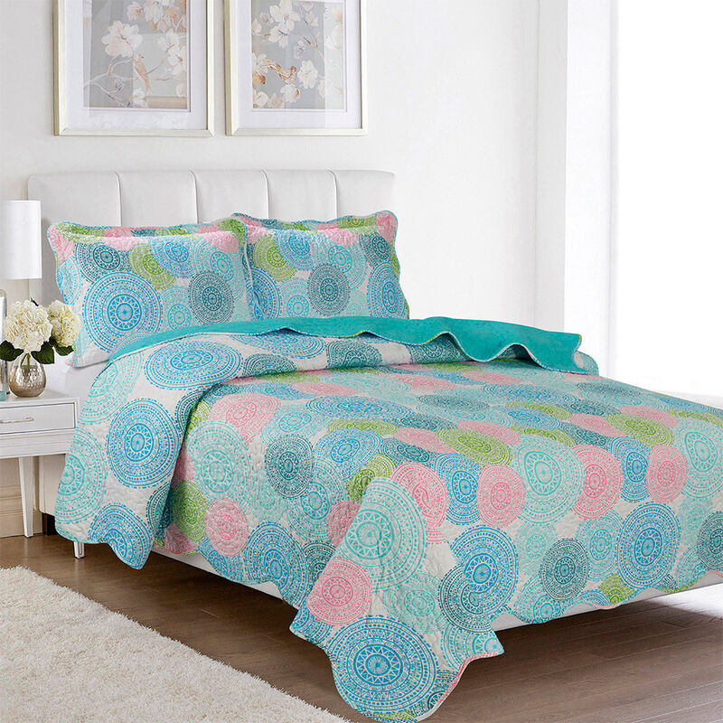 Quilt Estampado King