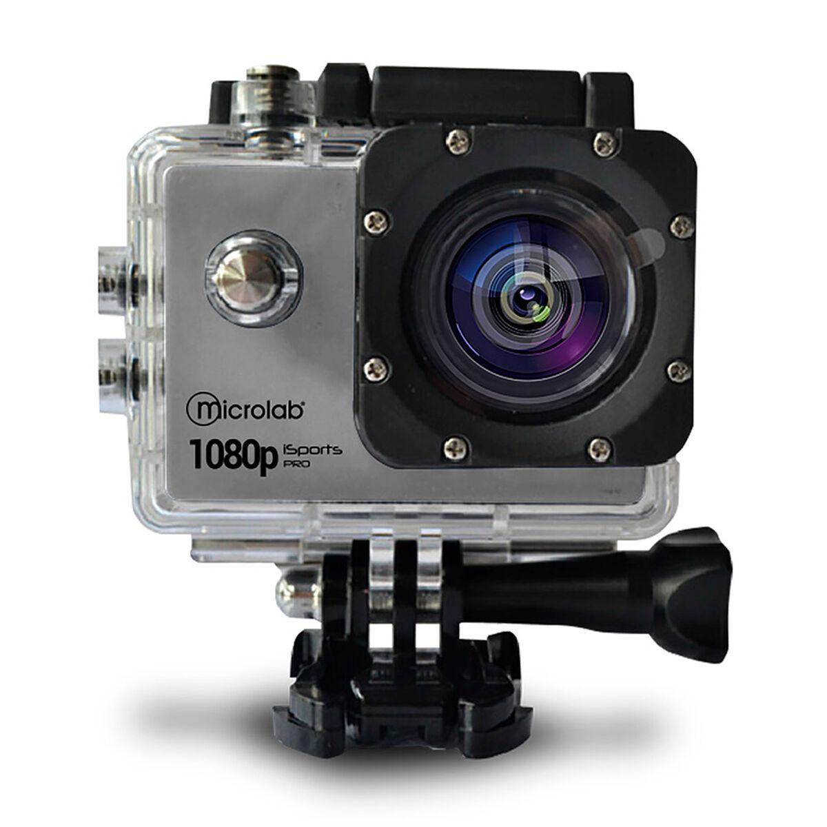 Camara Deportiva Waterproof Microlab Isports Pro A7 Xtreme