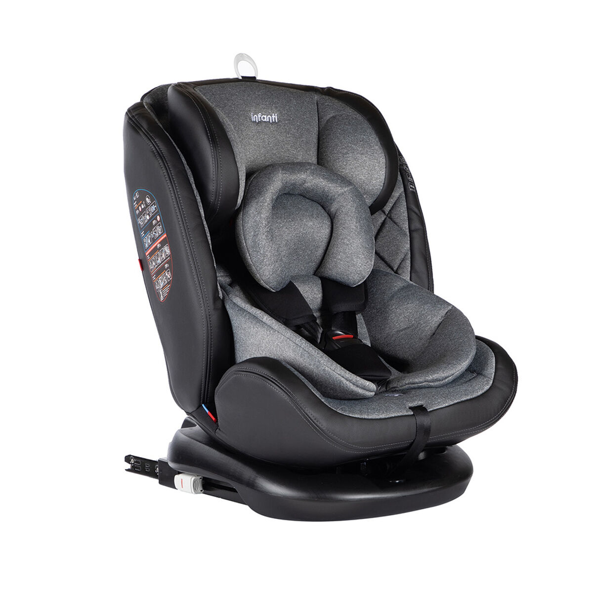 Silla de Auto Convertible I-Giro 360 Grey