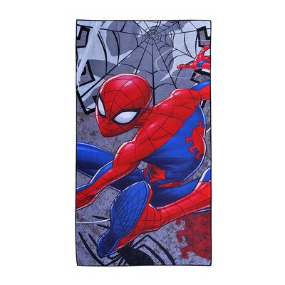 Toalla de Playa Suede Spiderman Web 70X140 Cm