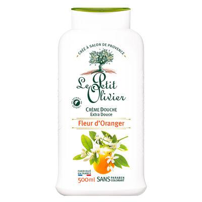 Crema Ducha Extra Suave Flor de Naranjo - Vegano - 500 ml