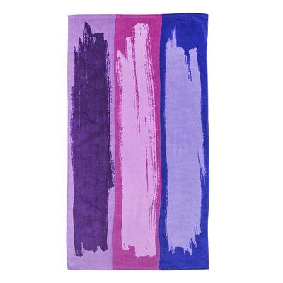 Toalla Algodon Velvet Pinceladas 70X150 Cm