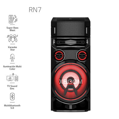 Minicomponente LG Torre de Sonido RN7