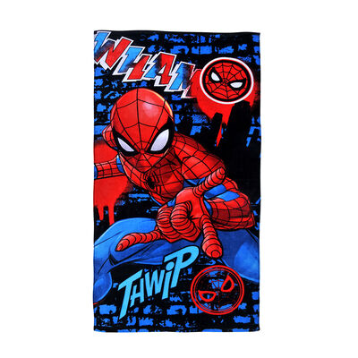 Toalla de Playa Disney Spiderman Wham 70 x 140 cm