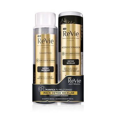 Pack Revie Shampoo + Acondicionador Detox Micelar