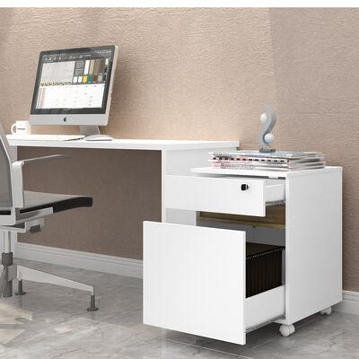 Mueble Organizador Lost Blanco/Café