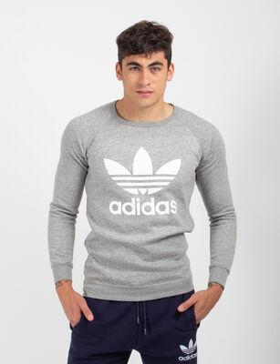 Polerón de Algodón Deportivo Hombre Adidas