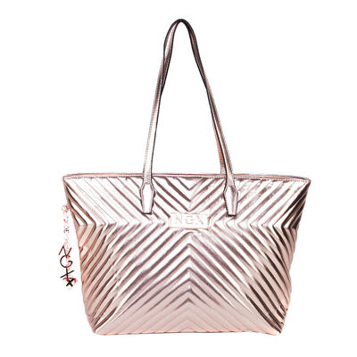 Bolso Pu Quilted Vanity