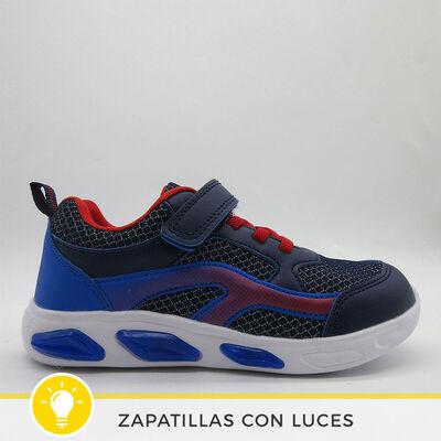 Zapatilla con Luces Niño Chess