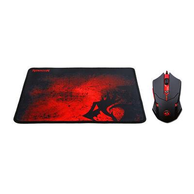 Mouse Gamer + MousePad Gamer Redragon