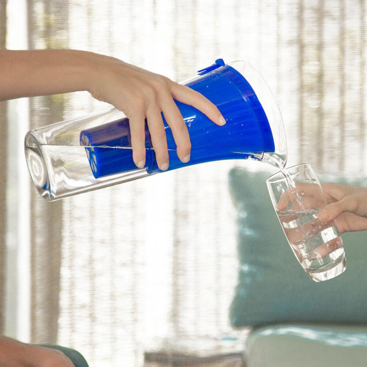 Jarro Purificador de Agua + Botella Benjamina Dvigi Azul