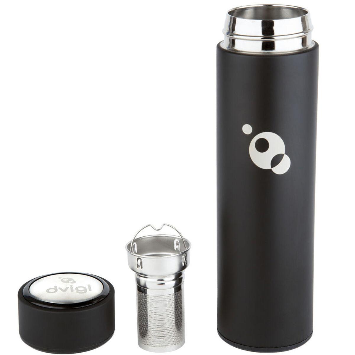 Botella Hidrogenadora de Agua Hydrobot + Botella Magnum Dvigi Negro