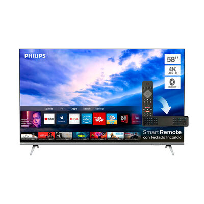 "LED 58"" Philips 58PUD6654 Smart TV 4K Ultra HD Borderless"