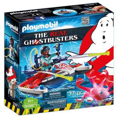Set Zeddemore con Moto de Agua Ghostbuster de Playmobil