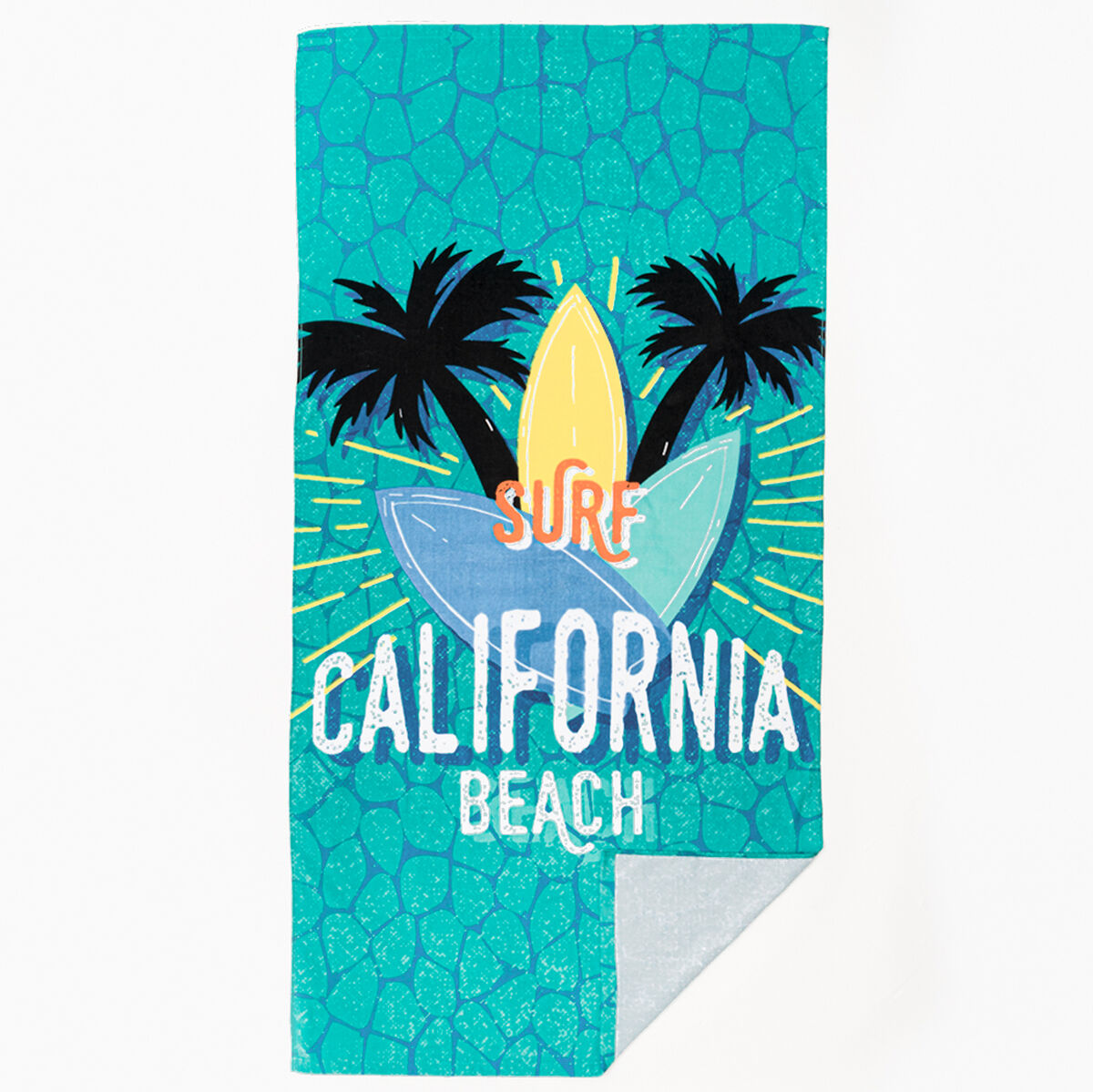 Toalla de Playa Velour Surf 75 x 150 cm