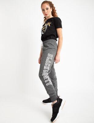 Pantalón Deportivo Mujer Black County