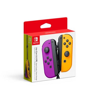 Control Nintendo Switch Morado Naranjo