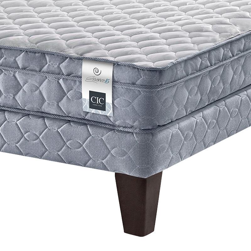 Cama Am. CIC Essence 5 2 Plazas Base Div.+Madera+Textil