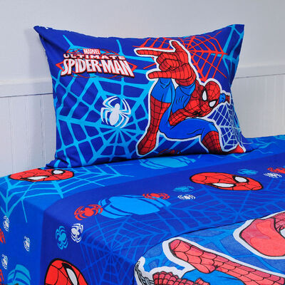 Sábana Spiderman Webs 1,5 Plazas