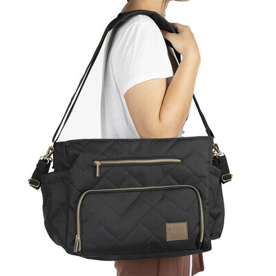 Bolso Motto Gold Negro