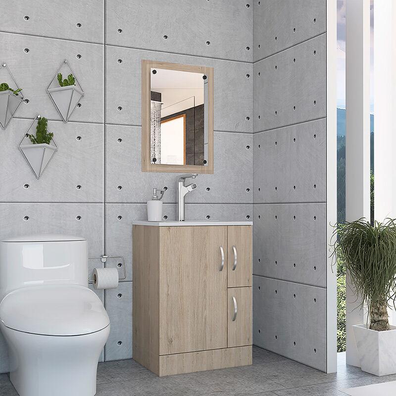 Set Mueble de Baño + Espejo de Baño