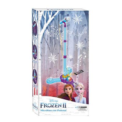 Microfono Con Pedestal Frozen