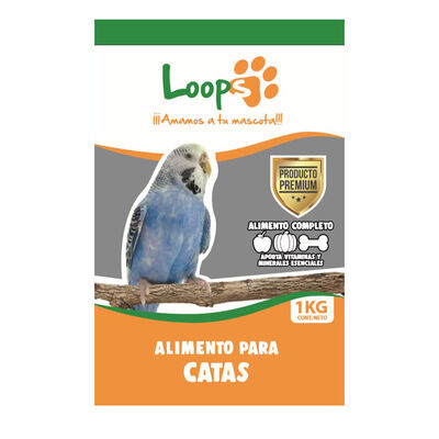 Alimento Otras Mascotas Loops  1 Kg