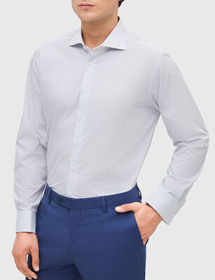 Camisa de Algodón Formal Hombre Trial