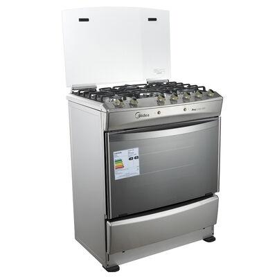 Cocina a gas Midea MCG 5Qi30AME5 89 lt