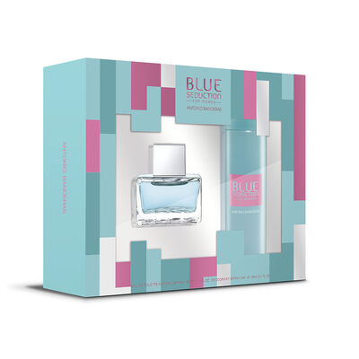 Set Blue Seduction Woman EDT 50 ml + Desodorante 150 ml